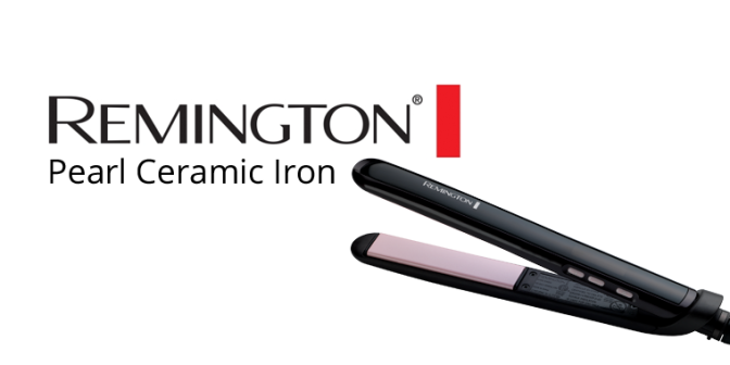 Remington Pearl Ceramic Iron
